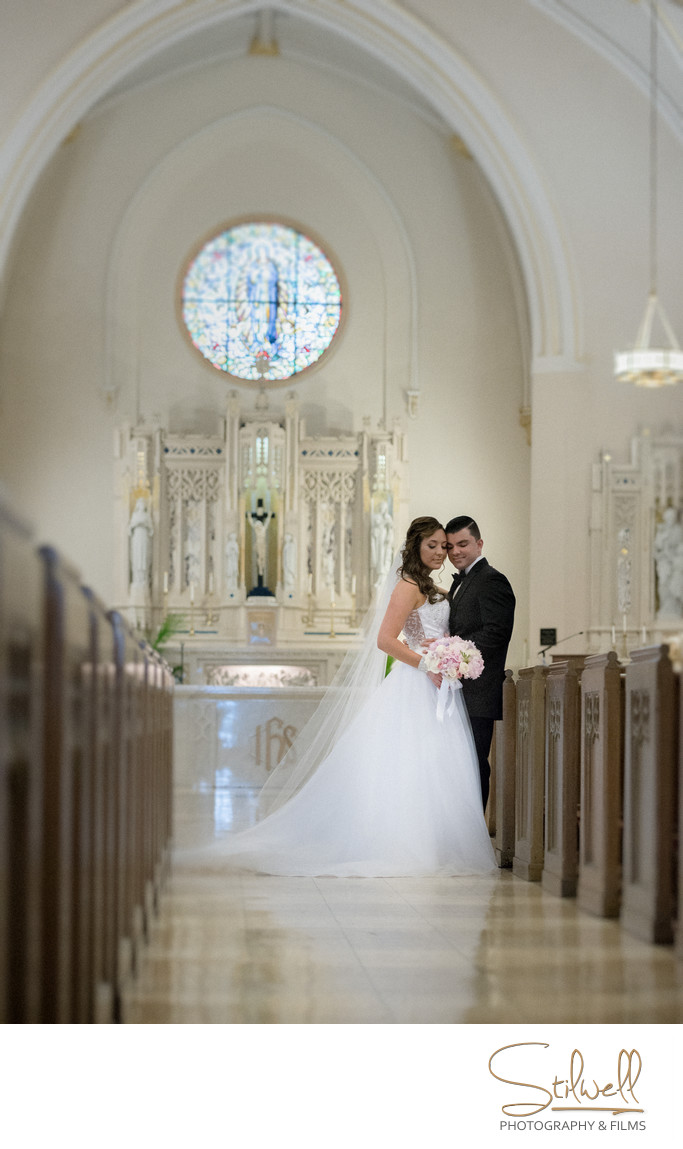 Chapel of the Most Holy Rosary Mount Saint Mary Wedding