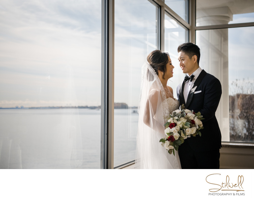Glen Island Harbour Club New Rochelle Wedding