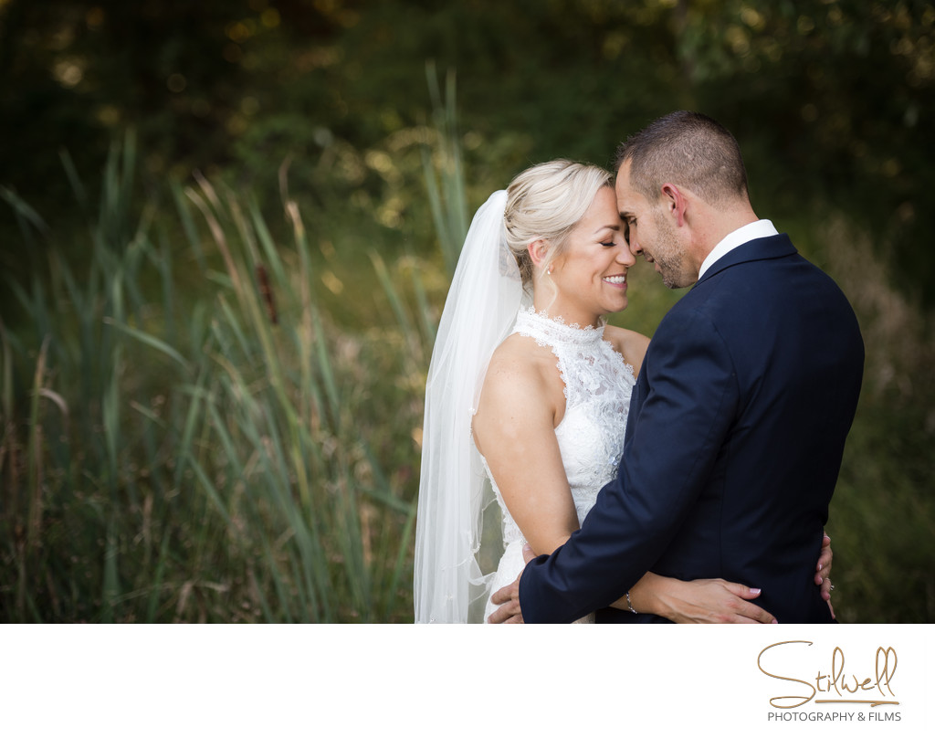 Orange County New York Wedding Couple Portrait