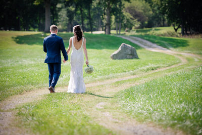 Portrait Bride and Groom Hudson Valley Wedding