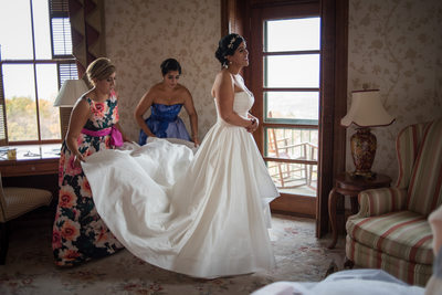 Mohonk Mountain House Wedding Preparation