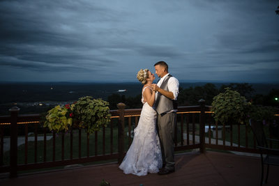 Night Portrait Hudson Valley Wedding Photographer