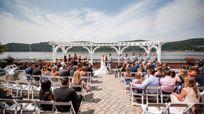 The Grandview Poughkeepsie NY Wedding Ceremony Picture