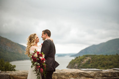Trophy Point Wedding West Point Stilwell Photography