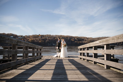 Hudson Valley Marist College Wedding Portraits