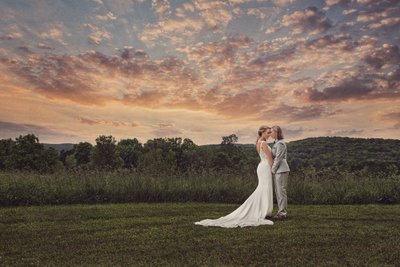Couple Wedding Portrait Hudson Valley Photographer
