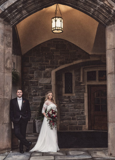 Thayer Hotel at West Point Wedding Portrait Stilwell Photography and Films