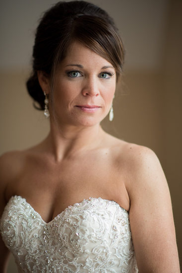Rock Island Lake Club Wedding Bridal Portrait