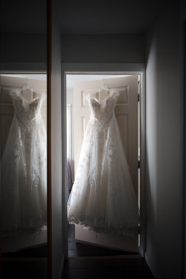 New York Wedding Dress Details
