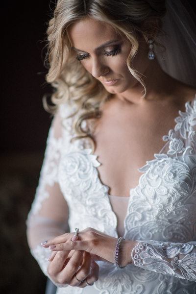 Crystal Springs Wedding NJ Bride