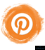 pinterest orange tools symbol