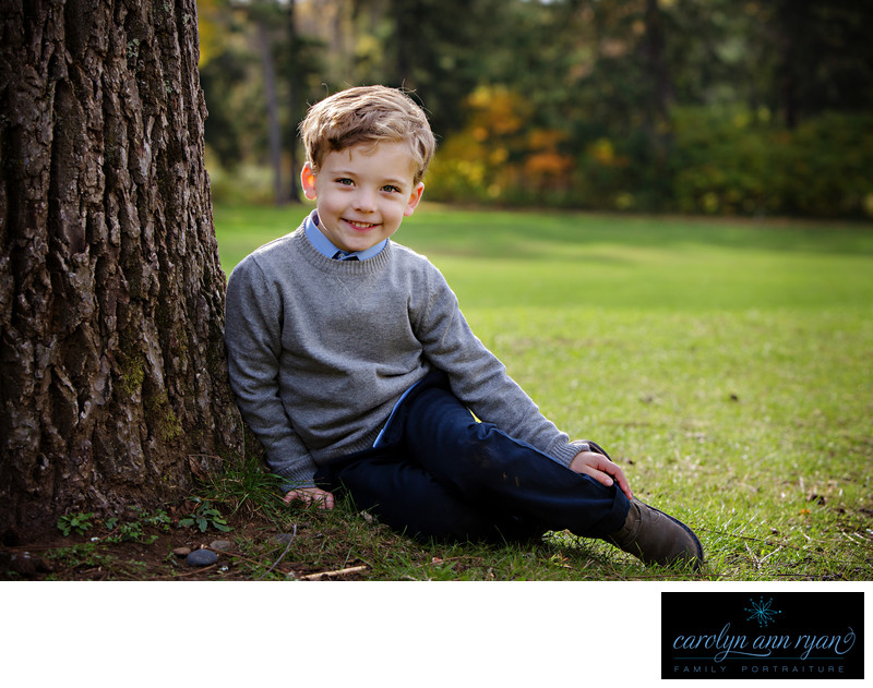 North Carolina Outdoor Childrens Portraits