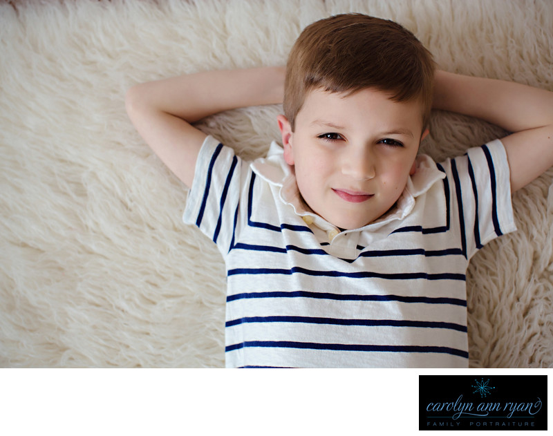 Studio Portraits of Boys in Charlotte North Carolina