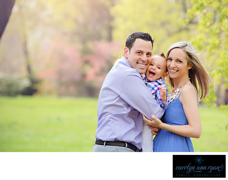 Elite Charlotte NC Family Photographer Spring Portraits