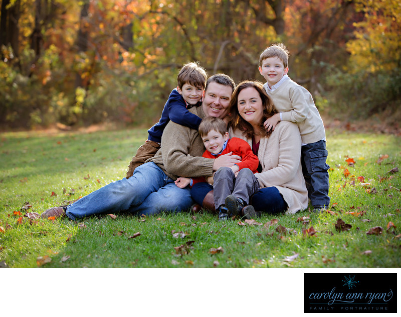 Beautiful Charlotte NC Family Portraits