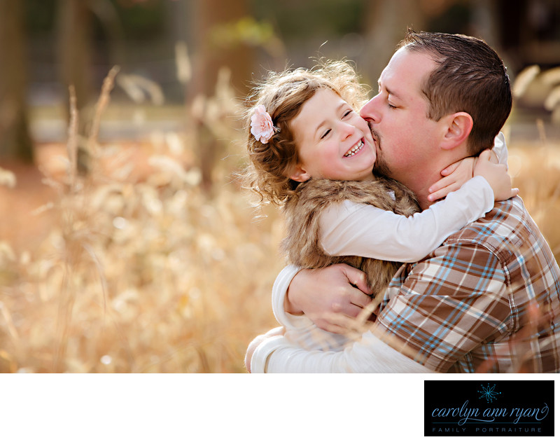 Enchanting Charlotte NC Father Daughter Portraits