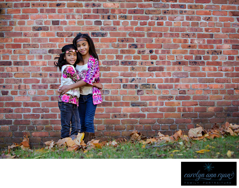 Sibling Portraits in Matthews