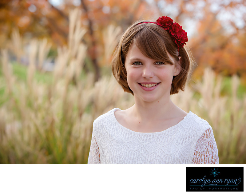Fall Tween Portraits Charlotte NC