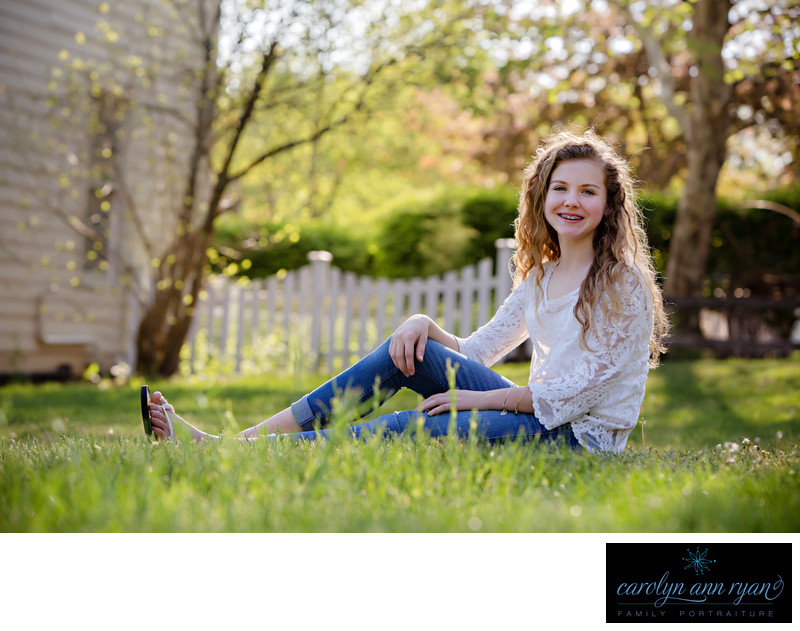 Outdoor Tween Photography Charlotte North Carolina