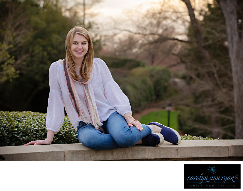 Charlotte Senior Photography in the Spring