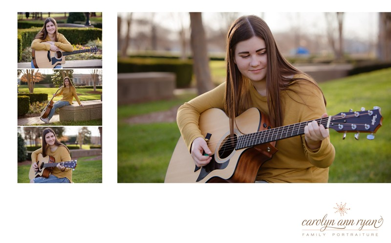 Talented Charlotte Seniors Session Book