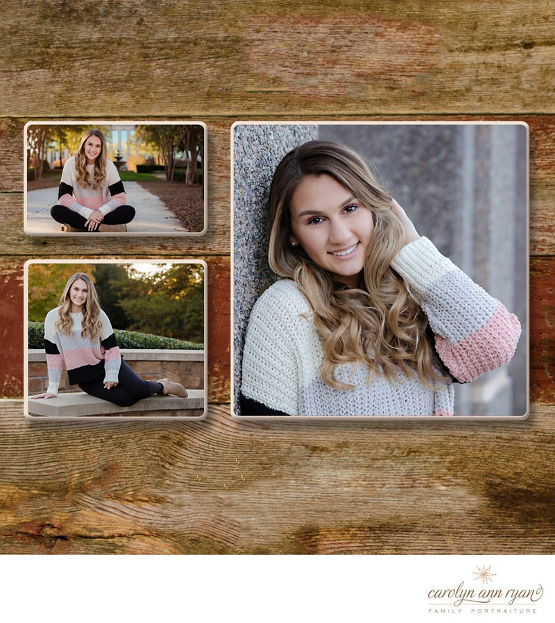 Cozy Charlotte Senior Portraits