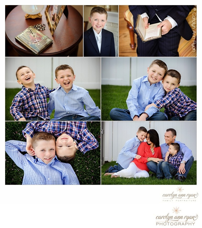 Charlotte NC Family Photographer Communion Portraits