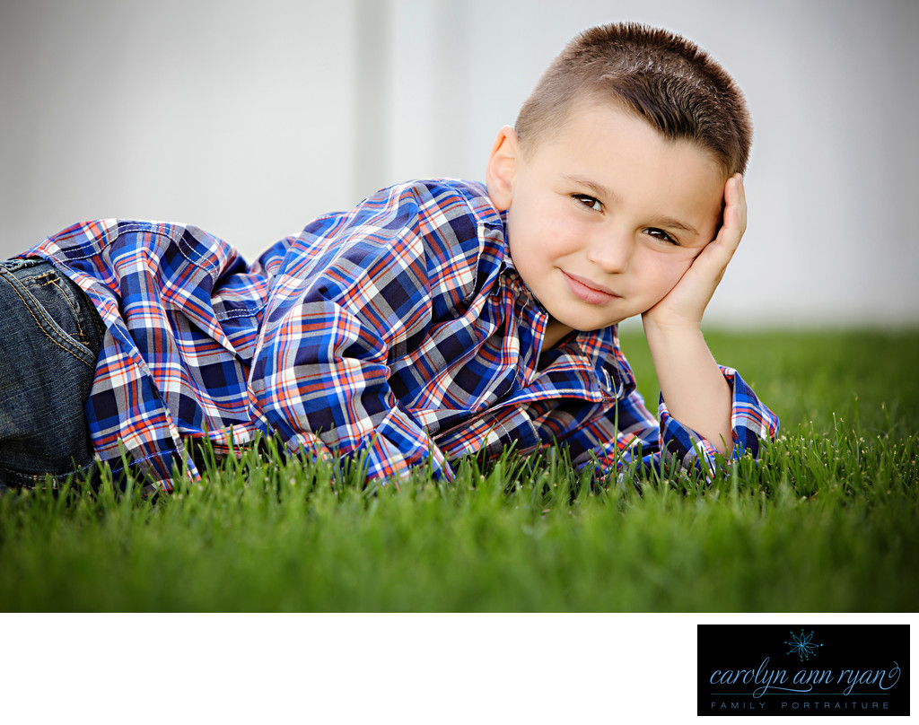 Elite Charlotte Child Photographer Spring Portraits