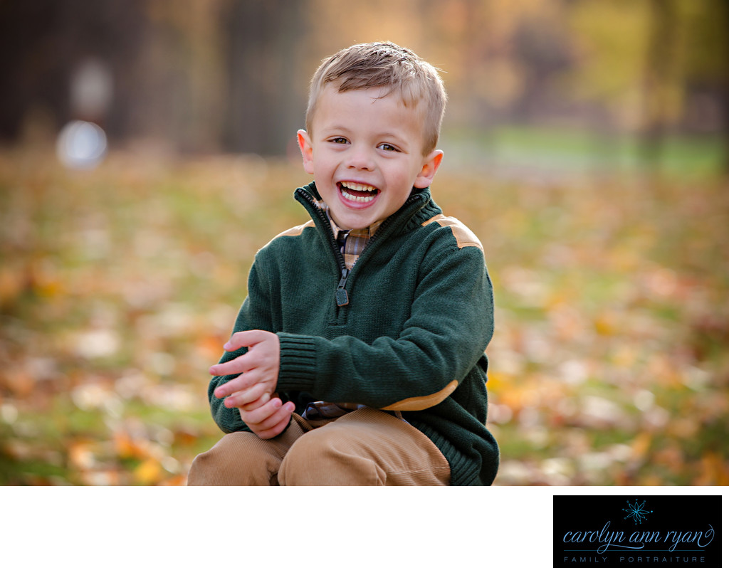 Autumn Family Portraits in Charlotte North Carolina