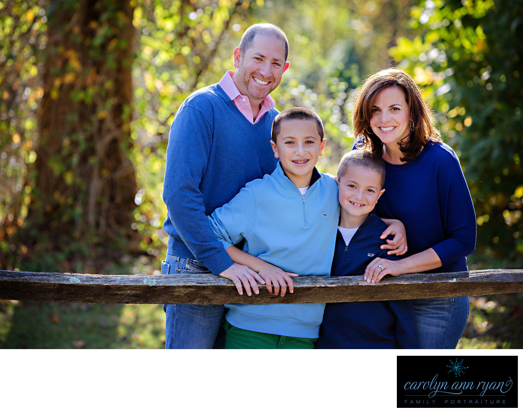 Classic Charlotte NC Family Photographer Fall Portraits