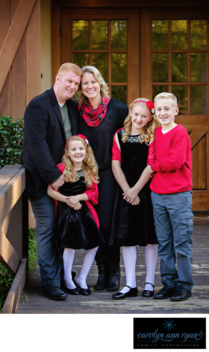 Experienced Waxhaw, NC Christmas Family Portraits