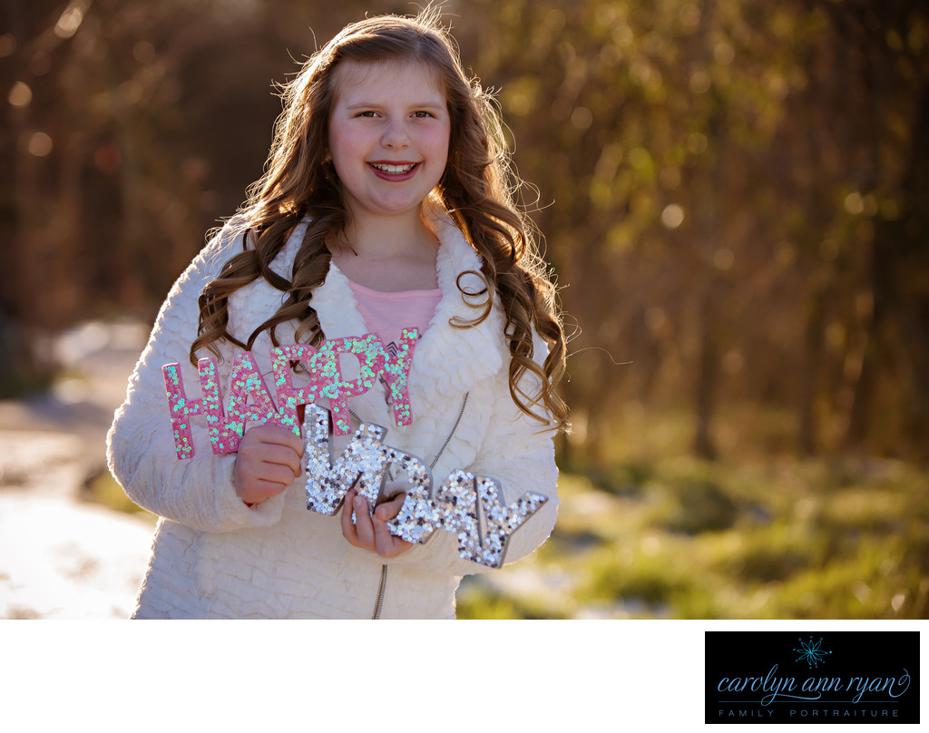 Valentine Tween Portrait Session in Charlotte