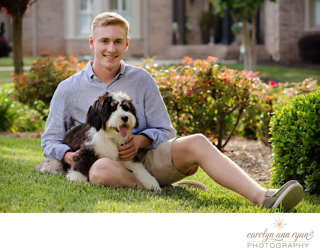 Charlotte Senior Pics with Pets