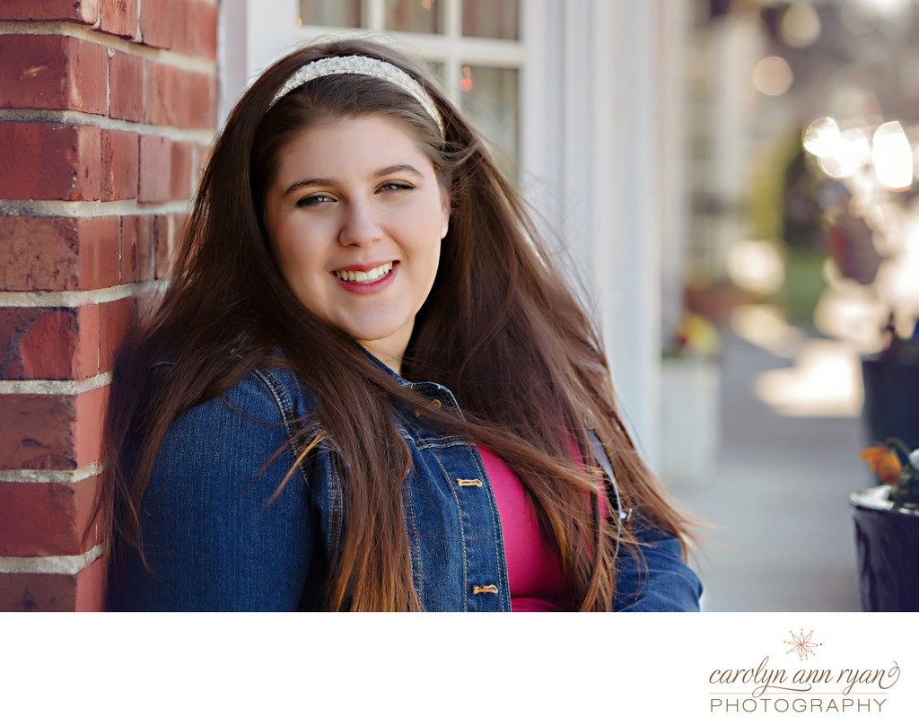 Stylish Charlotte Senior Photos
