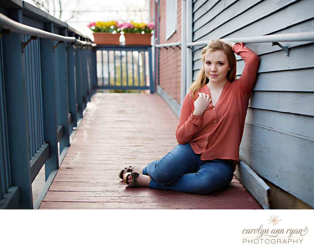 Spring Senior Photos Charlotte