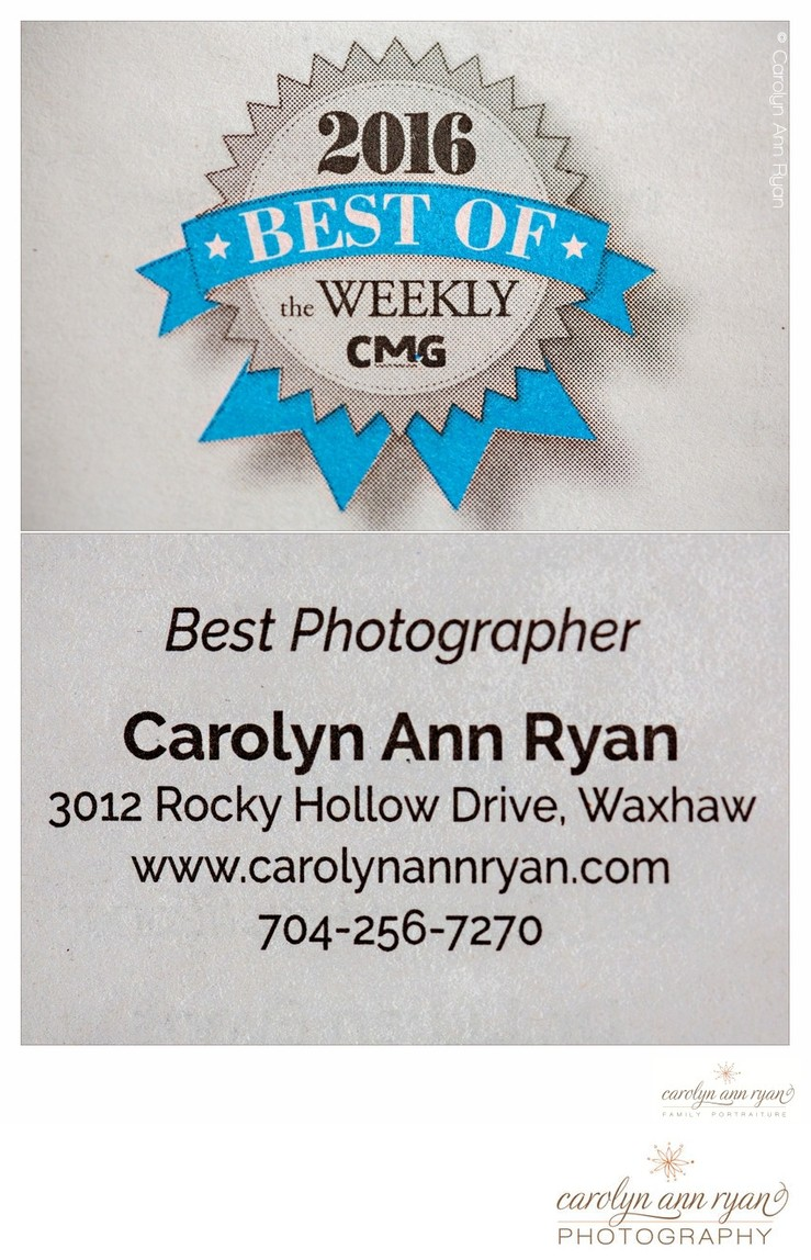 Voted Best Charlotte Photographer
