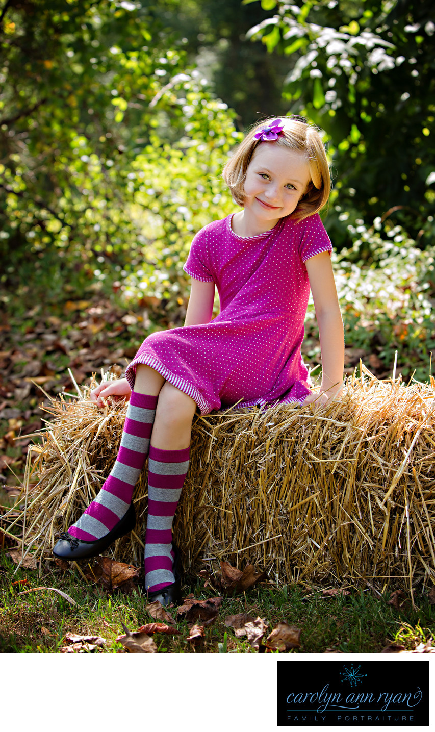Charlotte Child Photographer Back to School Portraits