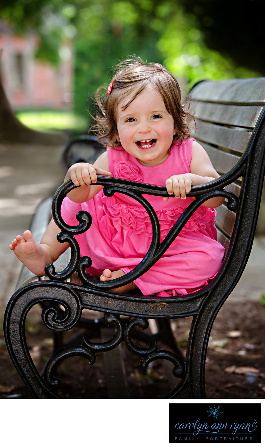 Charlotte Child Photographer Summer Portraits