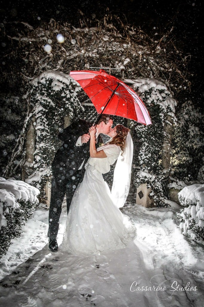 Westbury Manor Winter Wedding by Cassarino Studios