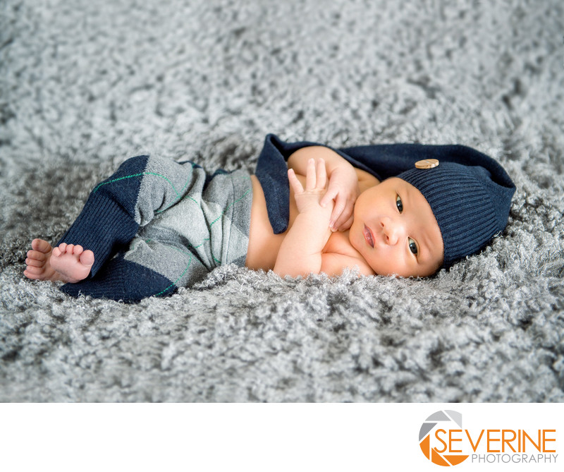 newborn boy blue grey pose ideas jacksonville photos