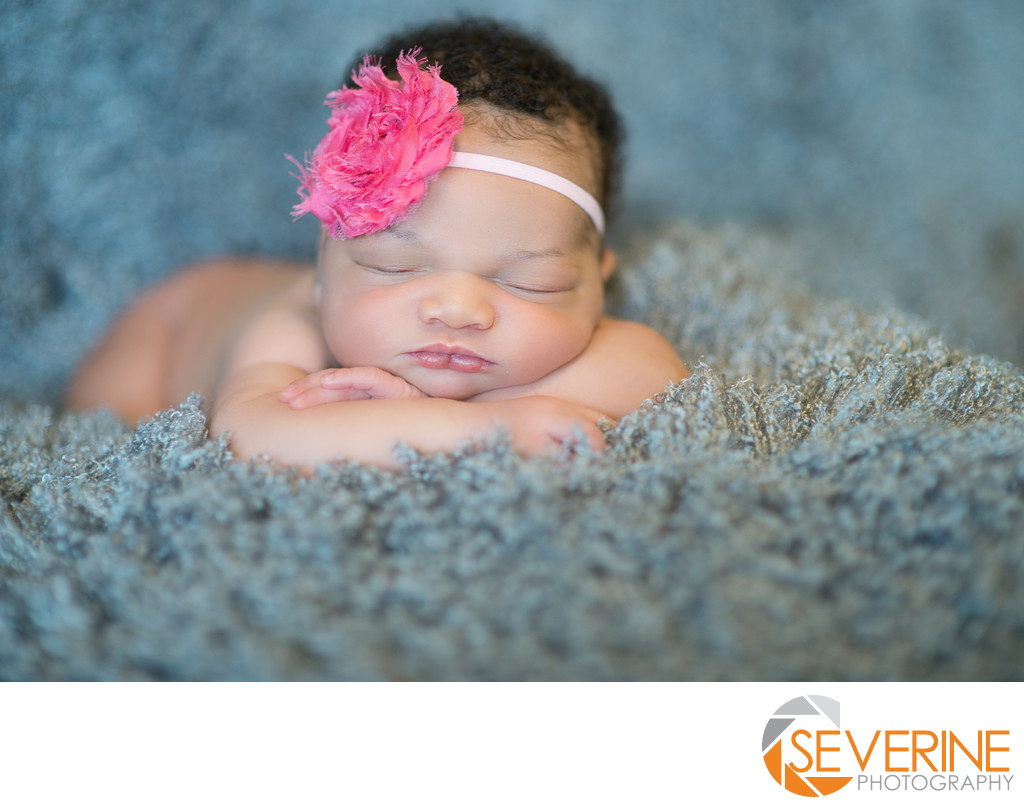 newborn girl photos pink grey jacksonville pictures