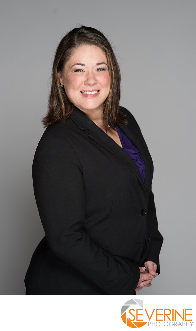 professional headshot for lawyers in jacksonville woman