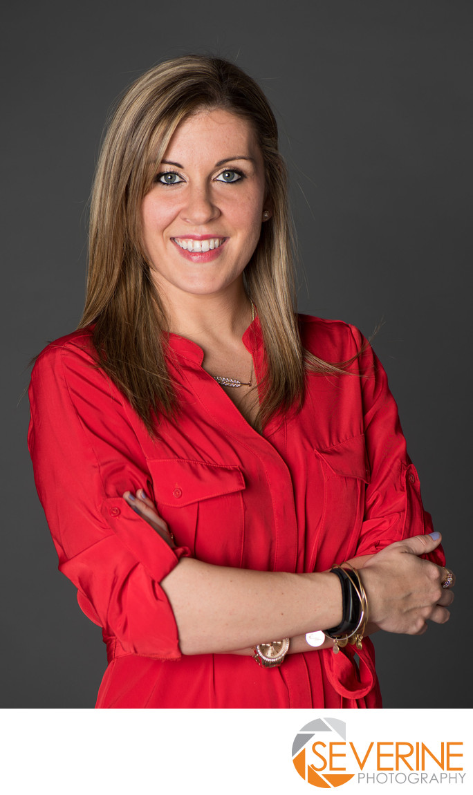 professional headshot for powerful woman in jacksonville