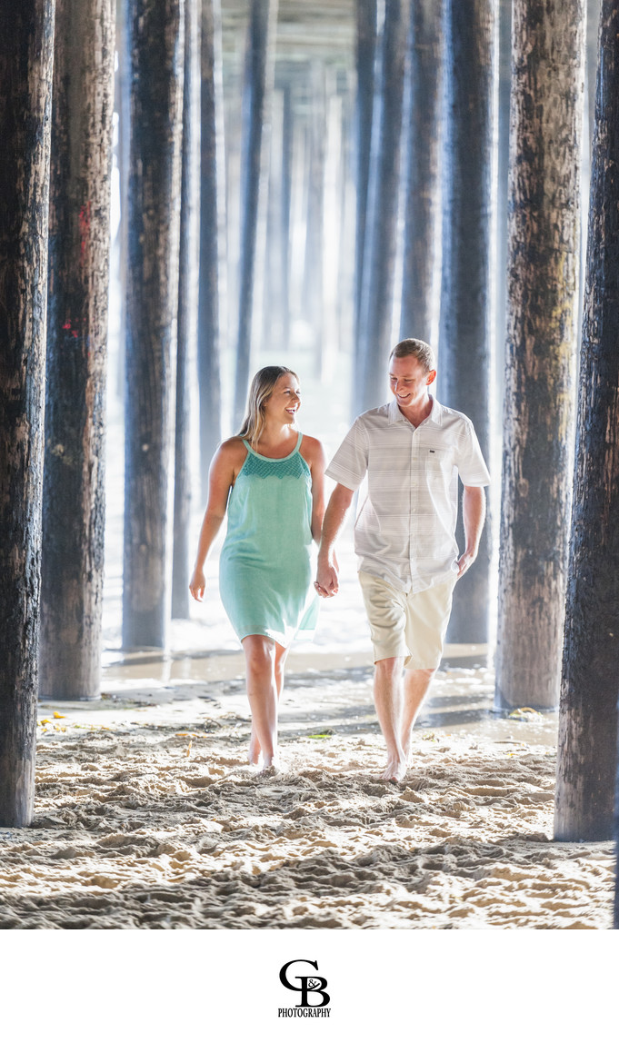 Pismo Pier Engagement Photography