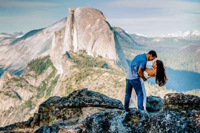 Destination Yosemite Engagement Photography