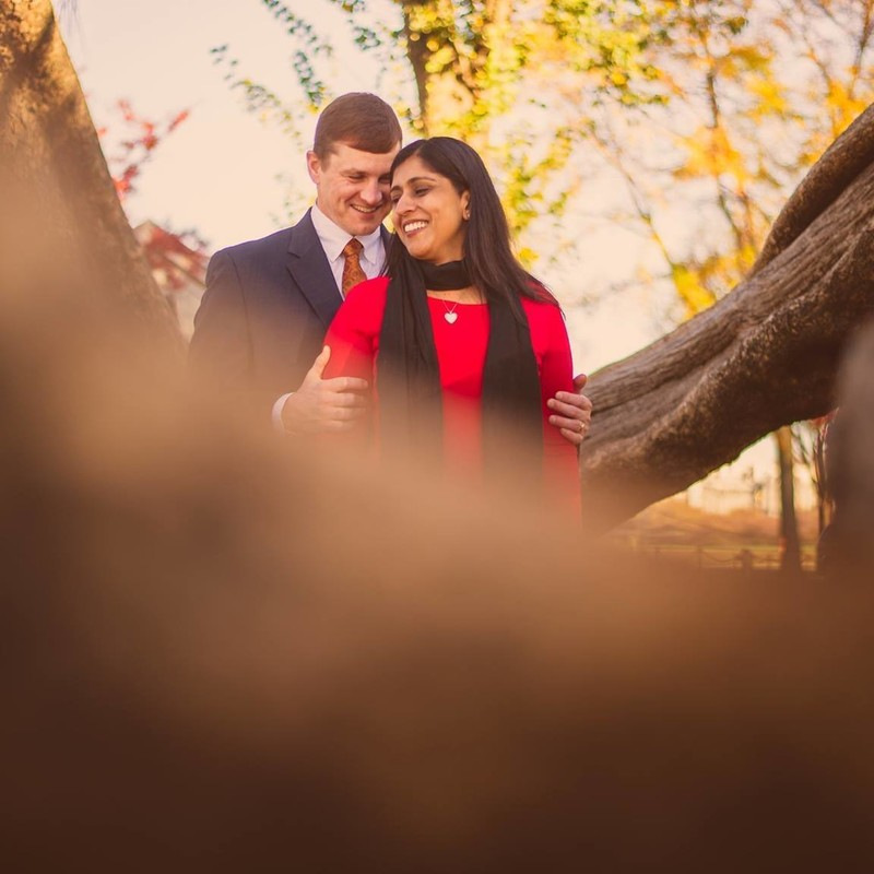 Washington DC Fall Engagement Session