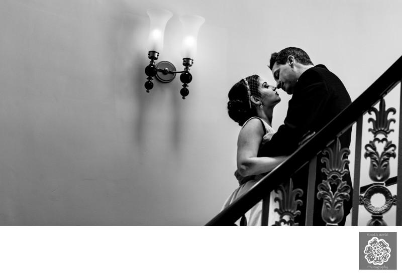 Wedding Photos at the Hotel Monaco in Washington DC