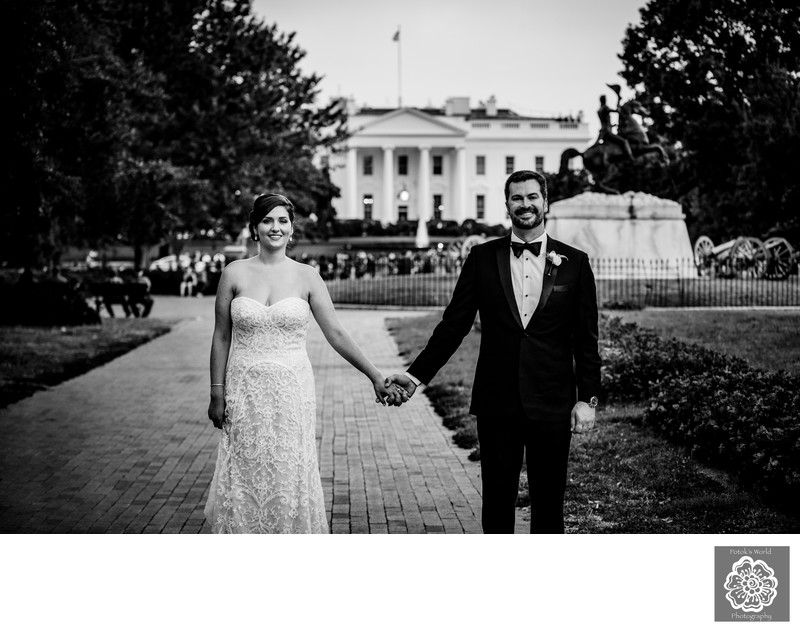 Wedding Photos at the White House