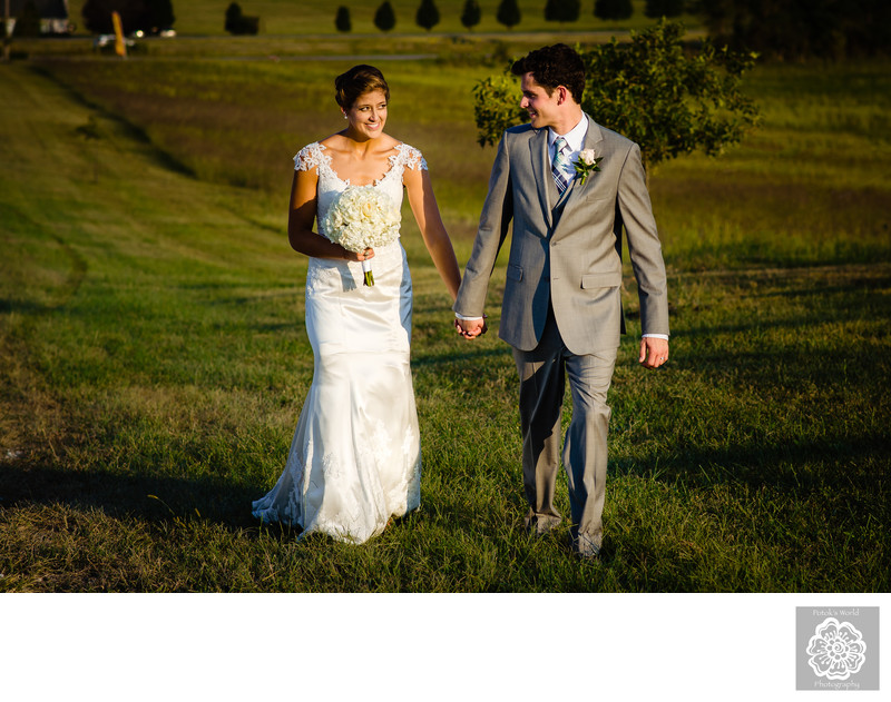 Wedding Photography at Springfield Manor Winery, MD