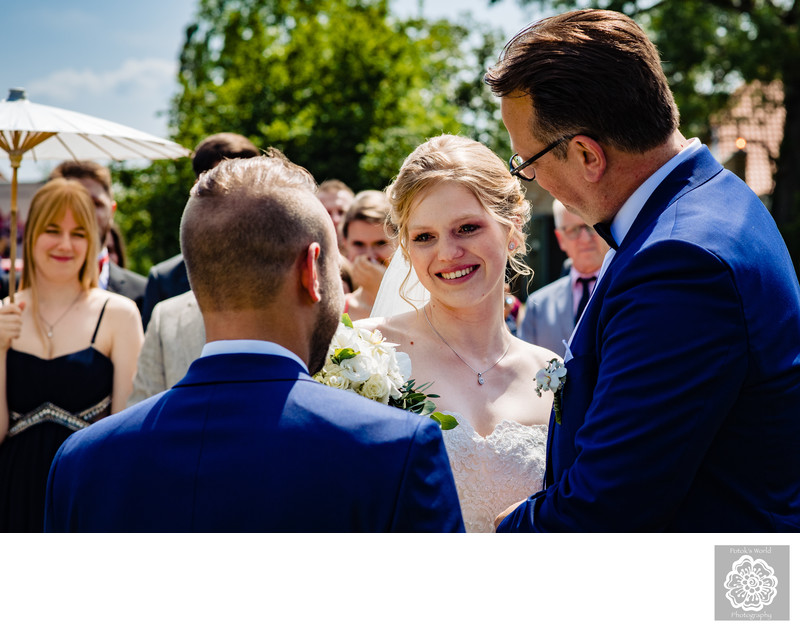 Outdoor Wedding Ceremony in Germany